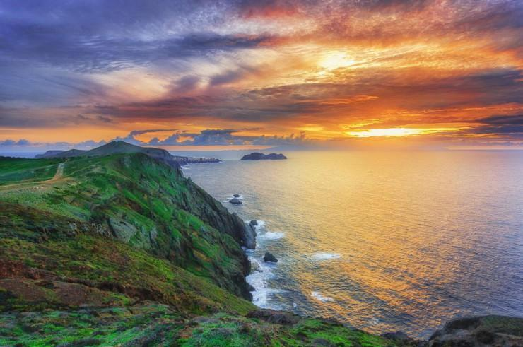 جزیره زیبا در مجمع الجزایر Madeira، پرتغال