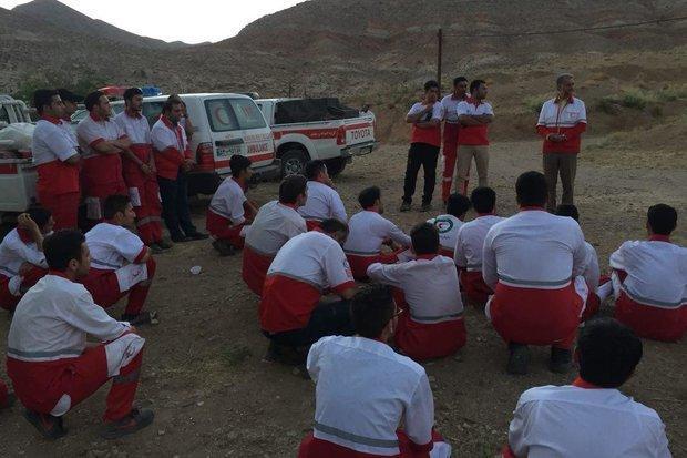 150 امدادگر هلال احمر سمنان در مانور مدیریت بحران شرکت کردند