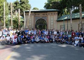 بازدید شرکت کنندگان المپیاد جهانی زیست شناسی از مجموعه سعدآباد