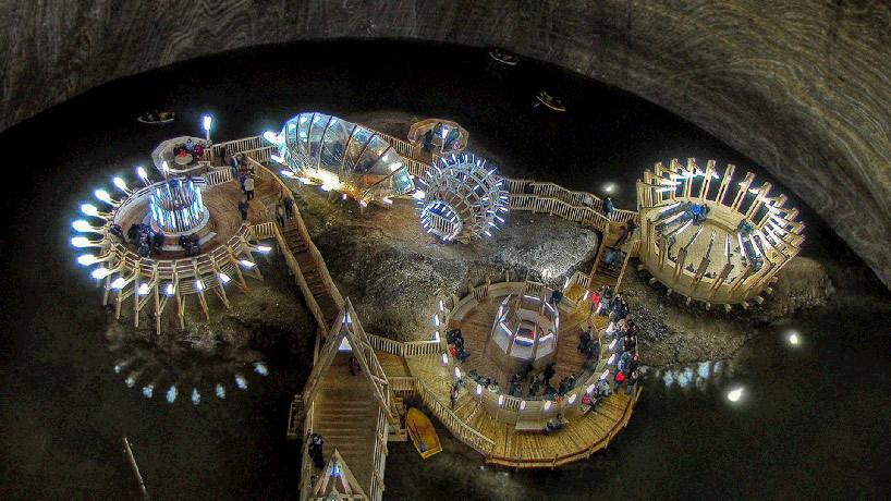 مرکز اسپا زیرزمینی باستان در رومانی