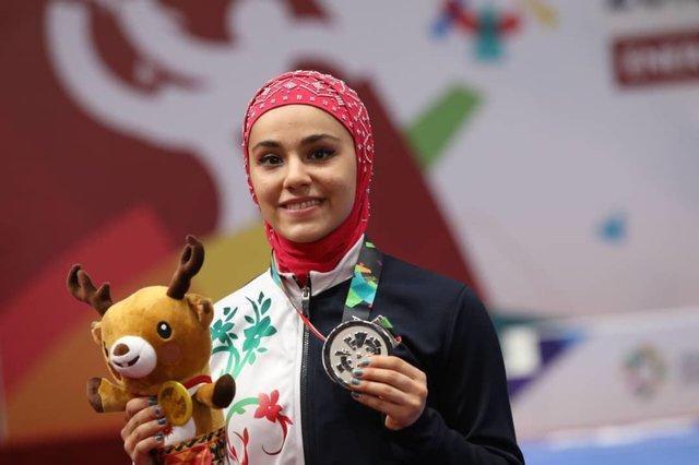 زهرا کیانی: مدالم را به مردم ایران تقدیم می کنم
