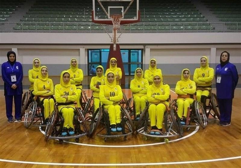 رقابت های آزاد بسکتبال با ویلچر بانوان، ایران نایب قهرمان شد
