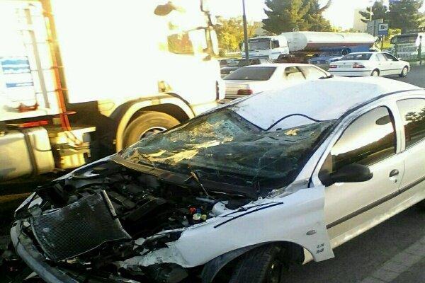 سانحه رانندگی در محلات یک کشته و 3 مجروح برجای گذاشت