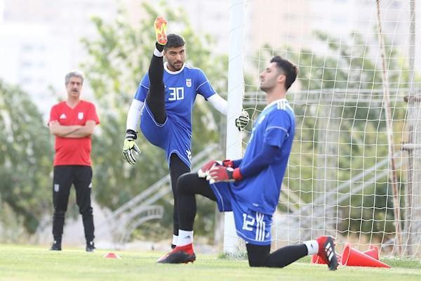 دروازه بان تیم ملی مقابل بولیوی کیست؟