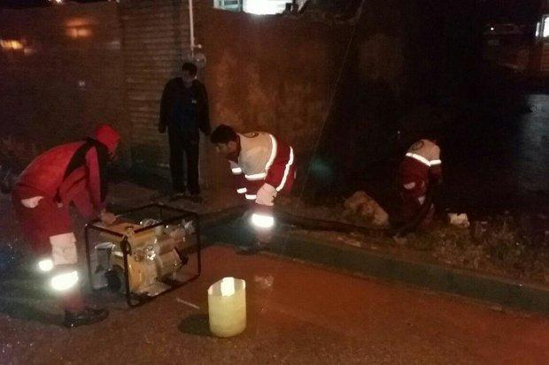 امدادرسانی در 9 استان گرفتار توفان و سیل، برپایی چادرهای اسکان