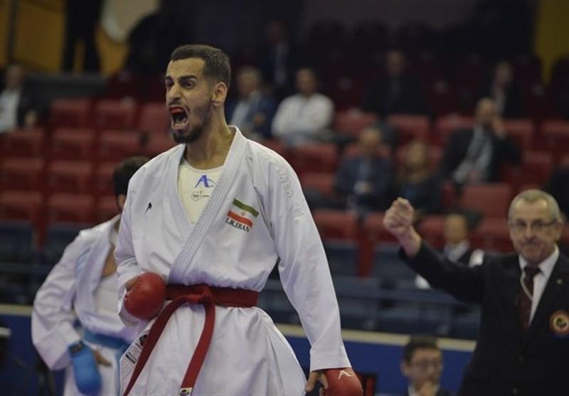 کاراته قهرمانی دنیا، درفشی پور برنز گرفت، خاتمه کار مردان ایران با یک طلا، یک نقره و دو برنز در بخش انفرادی