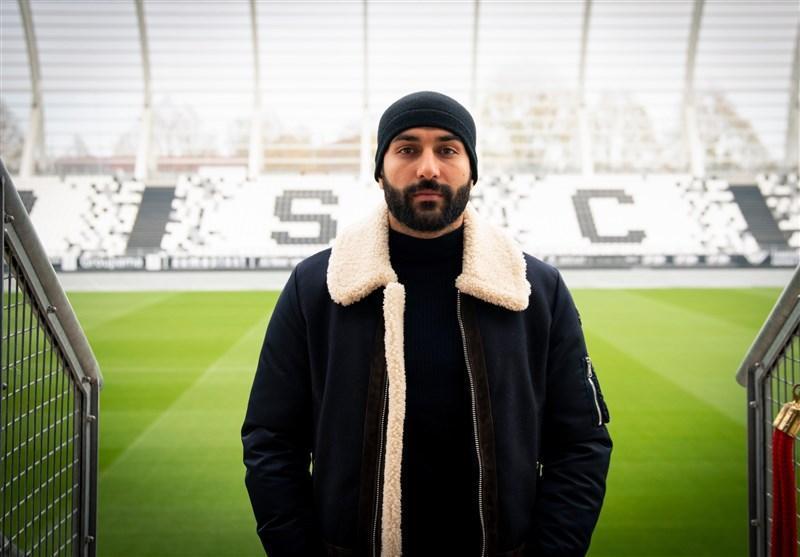 سامان قدوس: باشگاه آمیا خیلی مراقب من است، شرایطی مشابه اوسترشوندس داریم