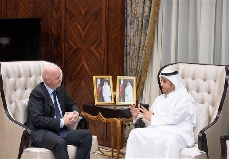 نخست وزیر قطر: مهیای میزبانی از بزرگترین رویداد ورزشی در منطقه هستیم