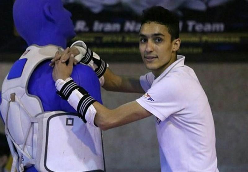 مسابقات تکواندو گرنداِسلم، آرمین هادی پور به نشان برنز دست یافت