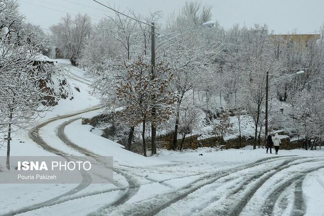 مسدودشدن راه ارتباطی 30 روستا در کوهرنگ