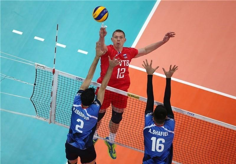 روسیه میزبان والیبال ایران در انتخابی المپیک شد