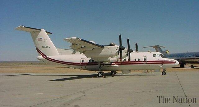 رصد هواپیمای جاسوسی آمریکا بر فراز کلمبیا