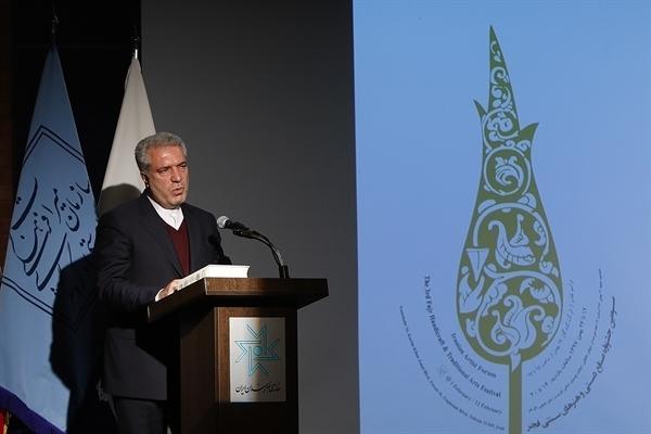مونسان در اختتامیه سومین جشنواره صنایع دستی فجر: رونق گردشگری به صادرات صنایع دستی یاری می نماید