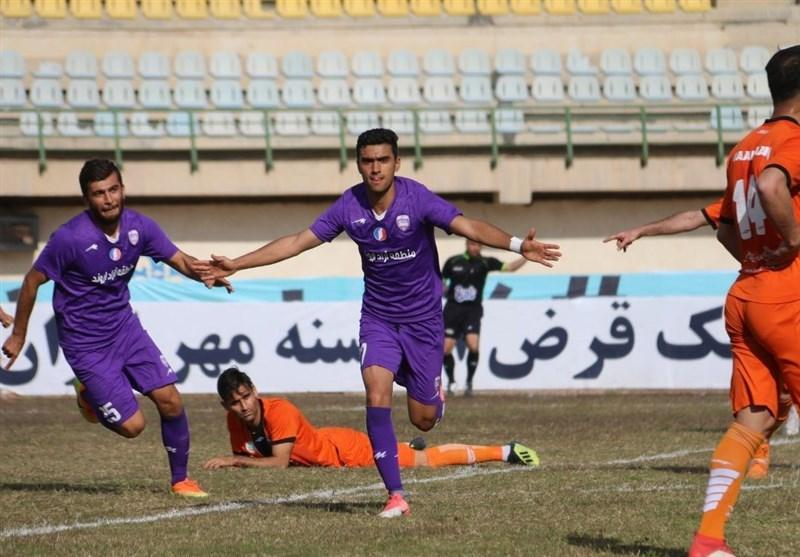 لیگ دسته اول فوتبال، فزونی کارون اروند در نبرد خوزستانی ها و ادامه قعرنشینی شهرداری ماهشهر