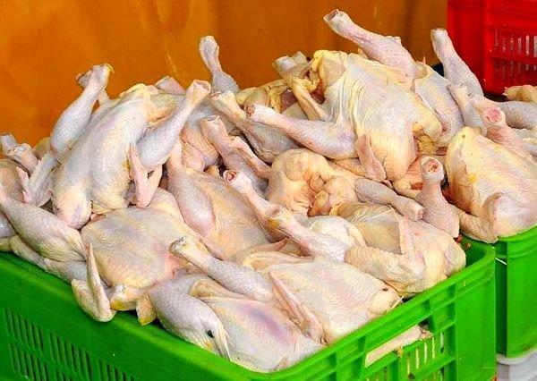 عرضه مرغ 11 هزار و 500 تومانی تا خاتمه نوروز ادامه دارد