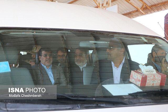 افتتاح فاز نخست طرح ساماندهی جزیره هرمز با حضور وزیر کشور