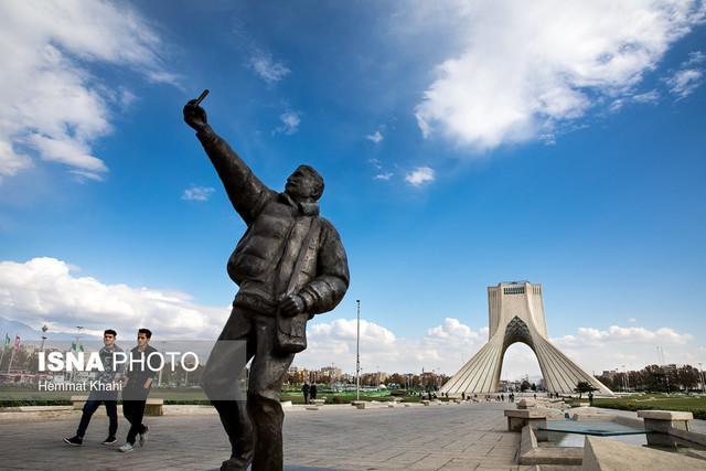 تهرانی ها در دومین روز از بهار هوای پاک تنفس می نمایند