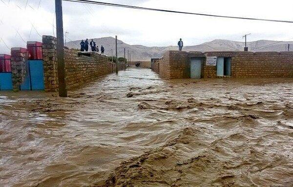 سیل، سه هزار و 380 میلیارد ریال خسارت به خراسان شمالی وارد کرد