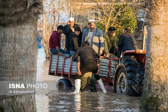 خسارت به 6000 واحد مسکونی در سیل مازندران