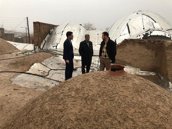 عدم خسارت به بناها و آثار تاریخی قم با افزایش شدت بارندگی