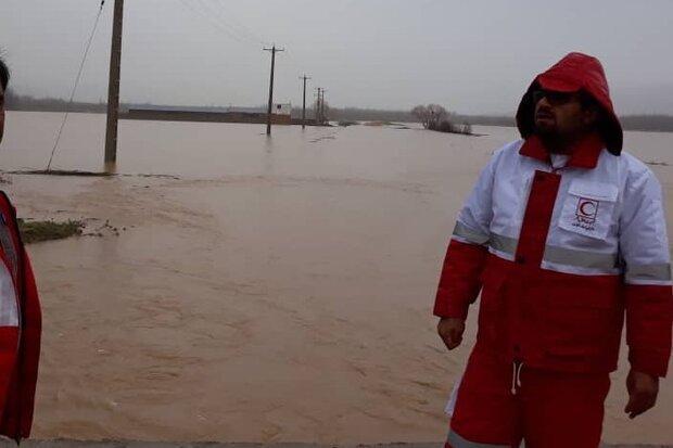راه ارتباطی 53 روستا قطع است ، از تخریب منازل مسکونی تا قطع آب شرب