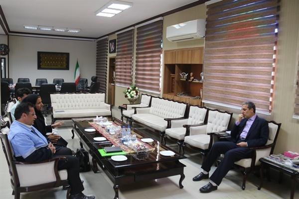 دیدار بازرس ارشد ستاد مرکزی هماهنگی خدمات سفر با استاندار بوشهر