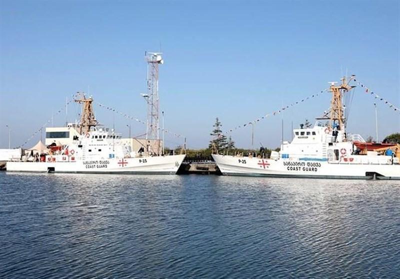 مانور مشترک دریایی گرجستان و ناتو در دریای سیاه