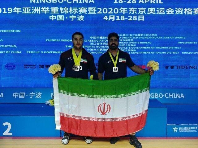 نایب قهرمانی میری در وزنه برداری آسیا ، چترایی نقره یک ضرب گرفت و چهارم شد