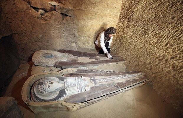 دو مقبره کشف شده در مصر را ببینید