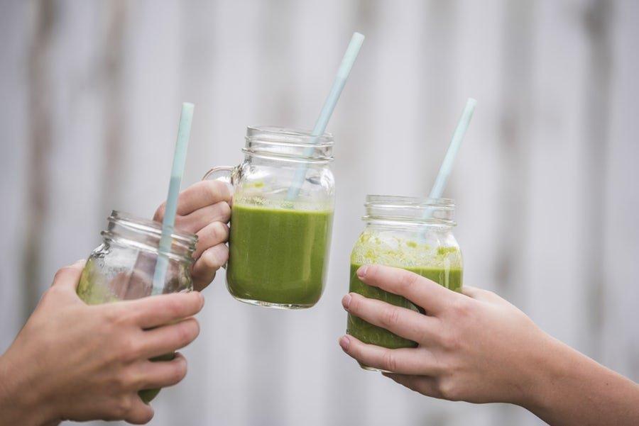 روزتان را با یک اسموتی ویتامینه سبز آغاز کنید