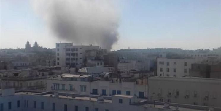 انفجار انتحاری در نزدیکی سفارت فرانسه در تونس