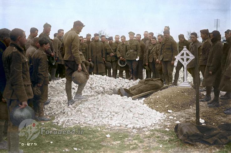تصاویر، عکس های رنگی جنگ جهانی اول