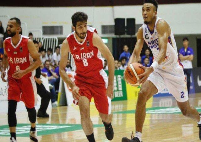 نخستین شکست بسکتبالیست های ایران در جام ویلیام جونز