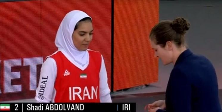 عبدالوند اولین مدال جهانی بسکتبال بانوان ایران را کسب کرد