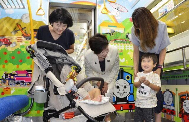 اختصاص واگن های ویژه بچه ها در مترو توکیو