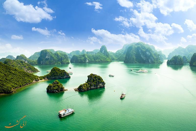 خلیج هالونگ در ویتنام، عجایب هفتگانه طبیعت جهان
