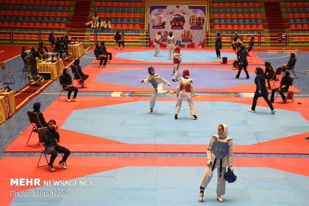 رقابت های تکواندوی بانوان کشور در تبریز برگزار گردید