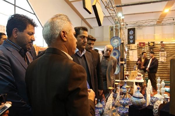 یازدهمین نمایشگاه تخصصی صنایع دستی کرمان افتتاح شد