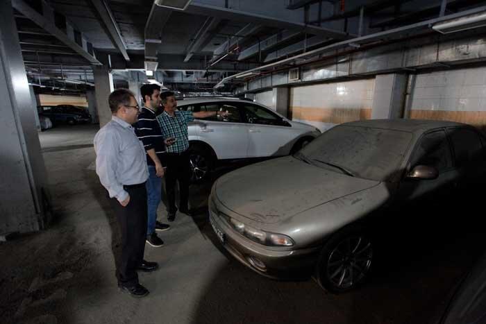 تعداد پارکینگ ها جوابگوی احتیاج شهروندان نیست