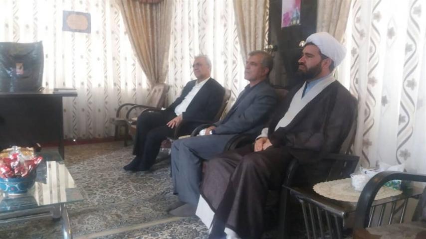 بازدید مدیرکل میراث فرهنگی خراسان رضوی از بقاع متبرکه سیدحمزه و سیدمرتضی در کاشمر