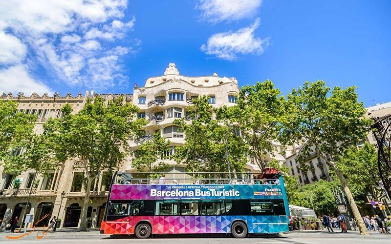 راهنمای تور اتوبوسی هاپ آن هاپ آف بارسلونا