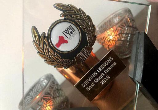 کلاس رانندگی برگزیده جشنواره انگلیسی شد