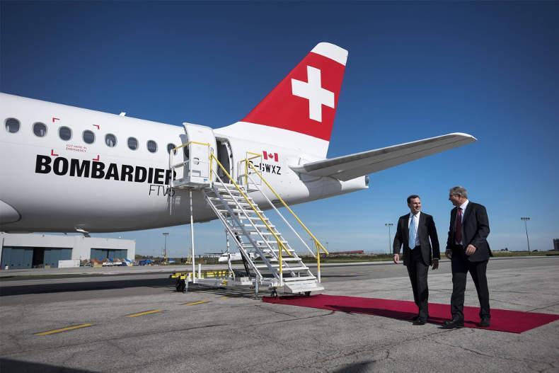 بمباردیه کانادا ، راه اندازی شرکت هوایی در ایران را رد کرد