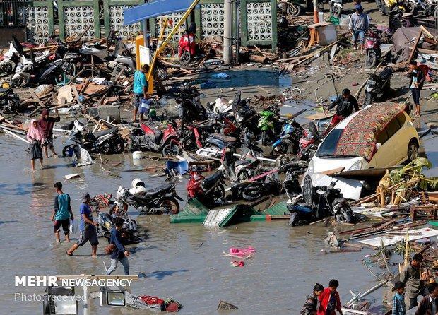سونامی در اندونزی 43 کشته بر جا گذاشت