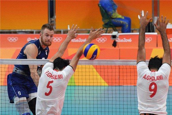 خداحافظی تیم ملی والیبال ایران با المپیک، زورمان به ایتالیا نرسید