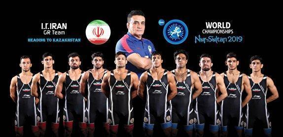 کشتی فرنگی قهرمانی دنیا، 3 مدال برنز، 3 سهمیه المپیک و عنوان چهارمی برای ایران