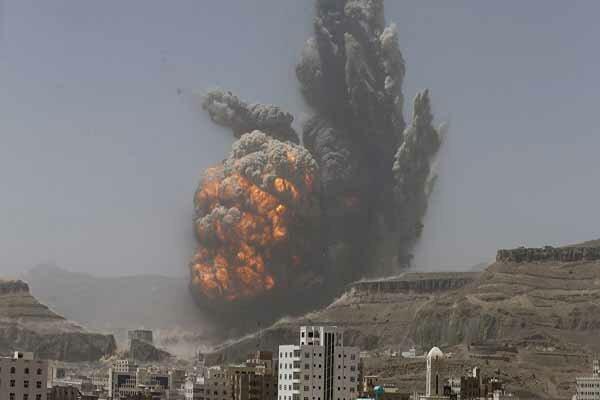 متجاوزان سعودی تنها طی 12 ساعت 39 حمله علیه یمن انجام دادند