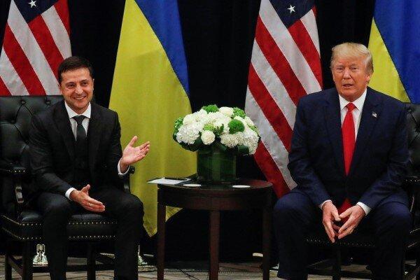 زلنسکی: انتشار نسخه اوکراینی تماس تلفنی من با ترامپ بعید است