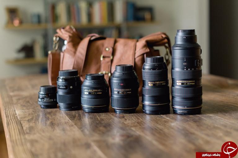 معرفی و بررسی انواع لنز های عکاسی