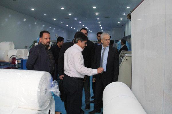 رایزن بازرگانی ترکیه در ایران از شهرک صنعتی کاسپین بازدید کرد